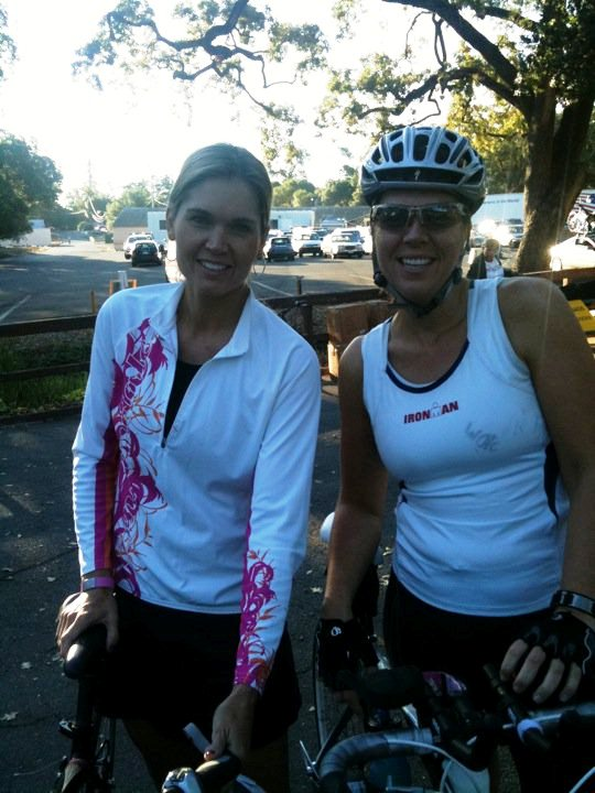 2010 Napa Valley Ride- Heather Wajer and her sister