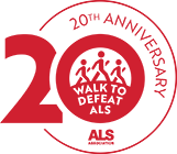 20th Anniversary Walk Logo