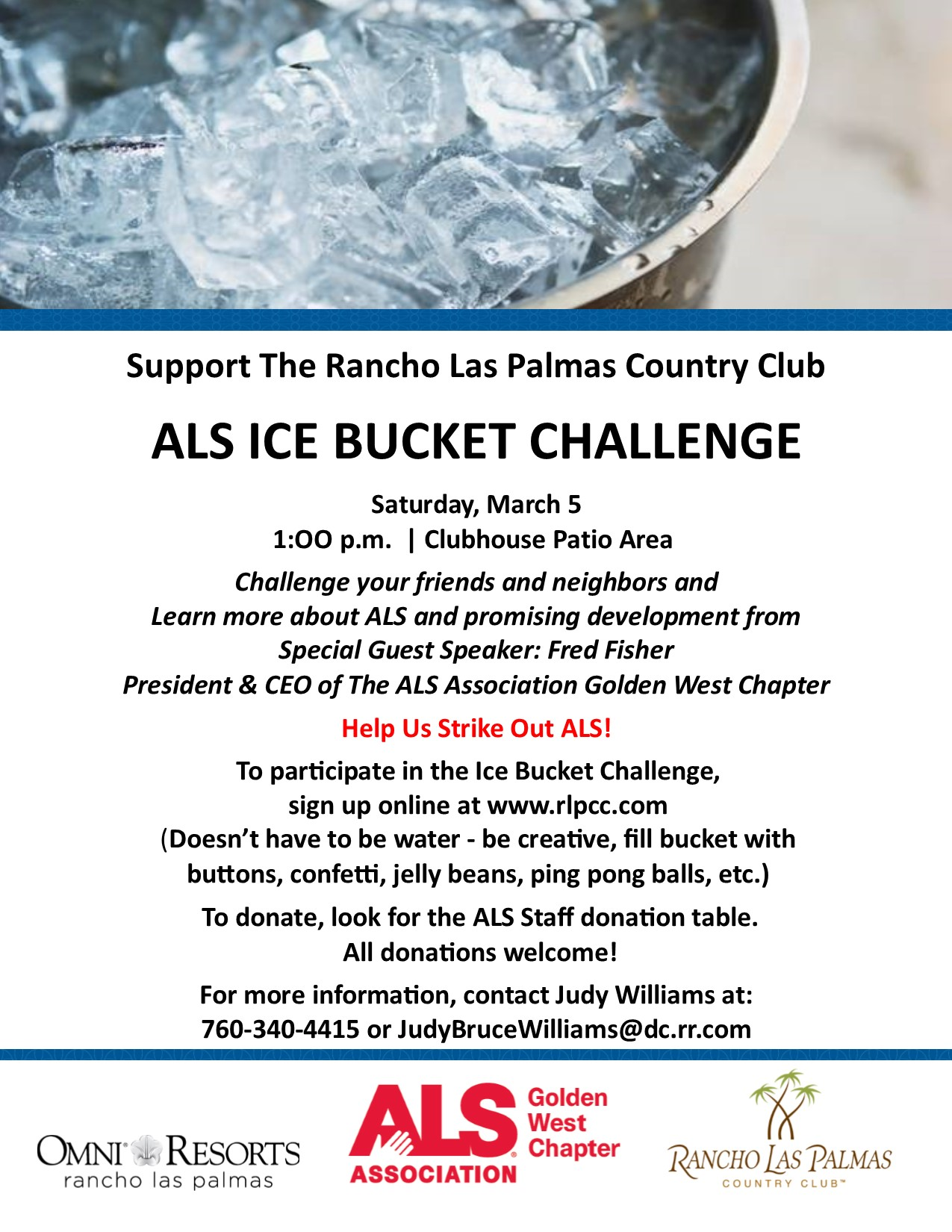 ALS Ice Bucket Challenge - March 5, 2016