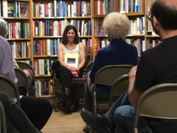 Marissa Moss talking about memoir