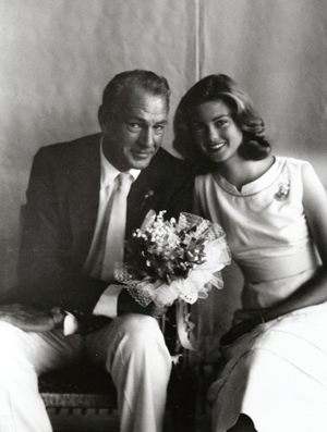 Gary Cooper with daughter Maria