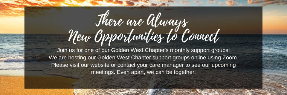 Join us for our online Support Groups!
