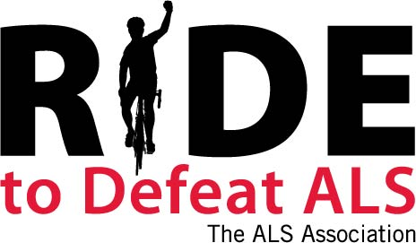 Logo- Ride to Defeat ALS (white)