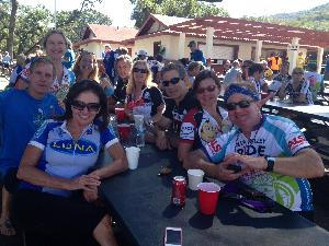 Team members less one at 2014 finish. Join us in 2018!