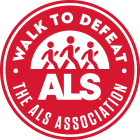 Walk to End ALS logo